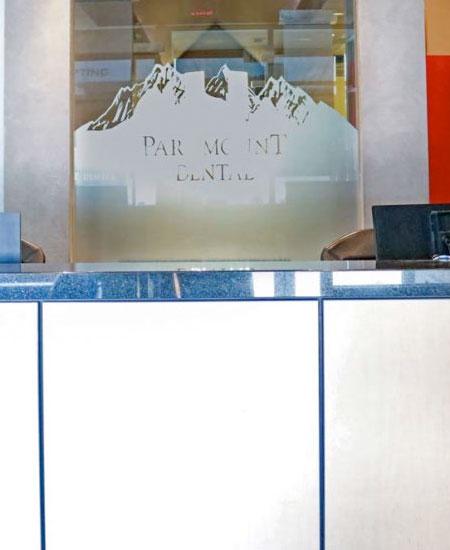 Reception Area | Paramount Dental | North Calgary | Family and General Dentist