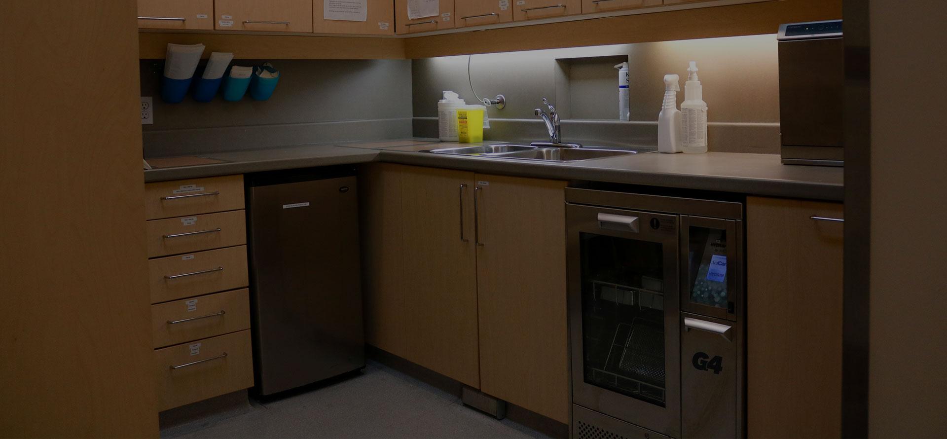 Sanitation Station | Paramount Dental | North Calgary | Family and General Dentist